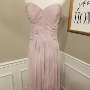 SAMPLE SALE!  NWT Dessy Collection Strapless Gown